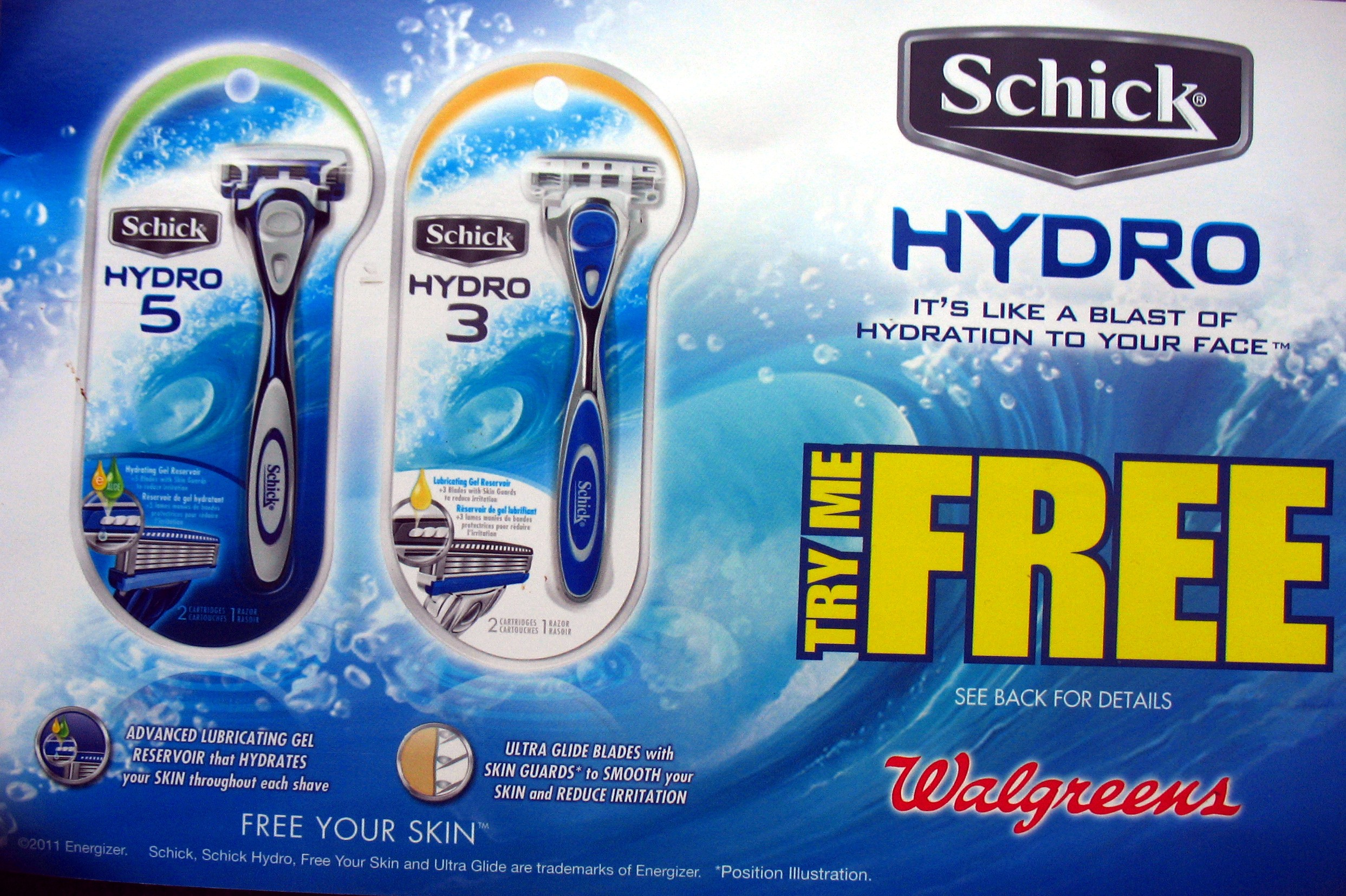 Schick razor coupons