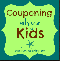 generous savings couponing with kids