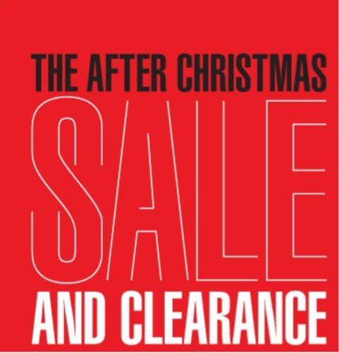 tips for shopping the after holiday sales