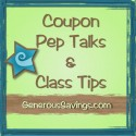 'Pep-talks' and Coupon Class tip Directory