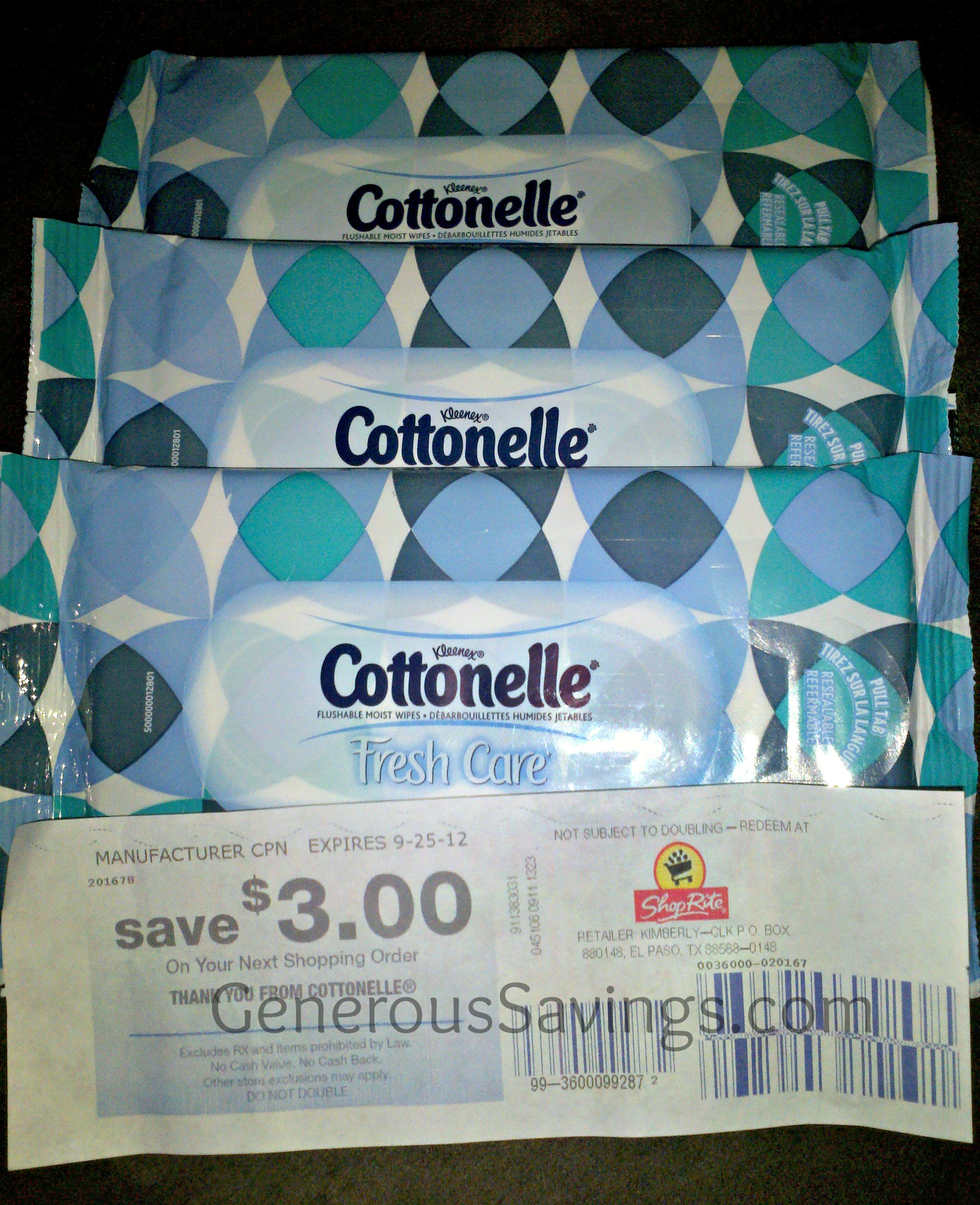 cottonelle catalina walgreen's
