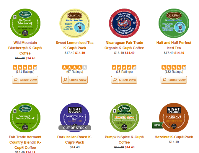 green mountain k cups coupon code