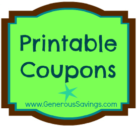 generous savings printable coupons