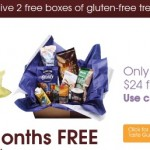Taste Guru –  FREE box of Gluten FREE food! (+ shipping)