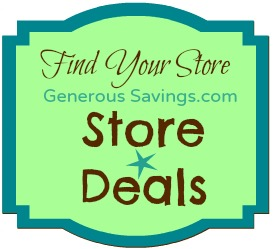 Generous Savings Store Deals
