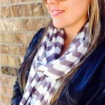 Jersey Knit Chevron Infinity Scarves – $10.99  shipped