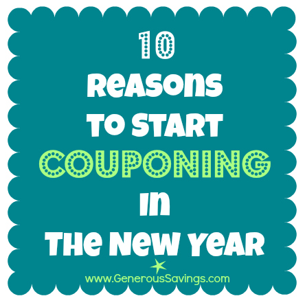 10 reasons to start couponing