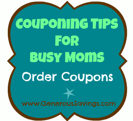 couponing for busy moms