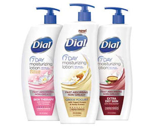 Free Dial 7 Day Moisturizing Lotion Sample