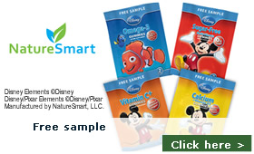 Free sample of: Disney Gummies by Nature Smart, LLC