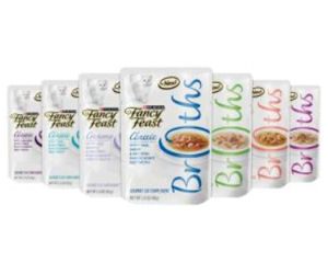Receive a Free Sample of Fancy Feast Broths